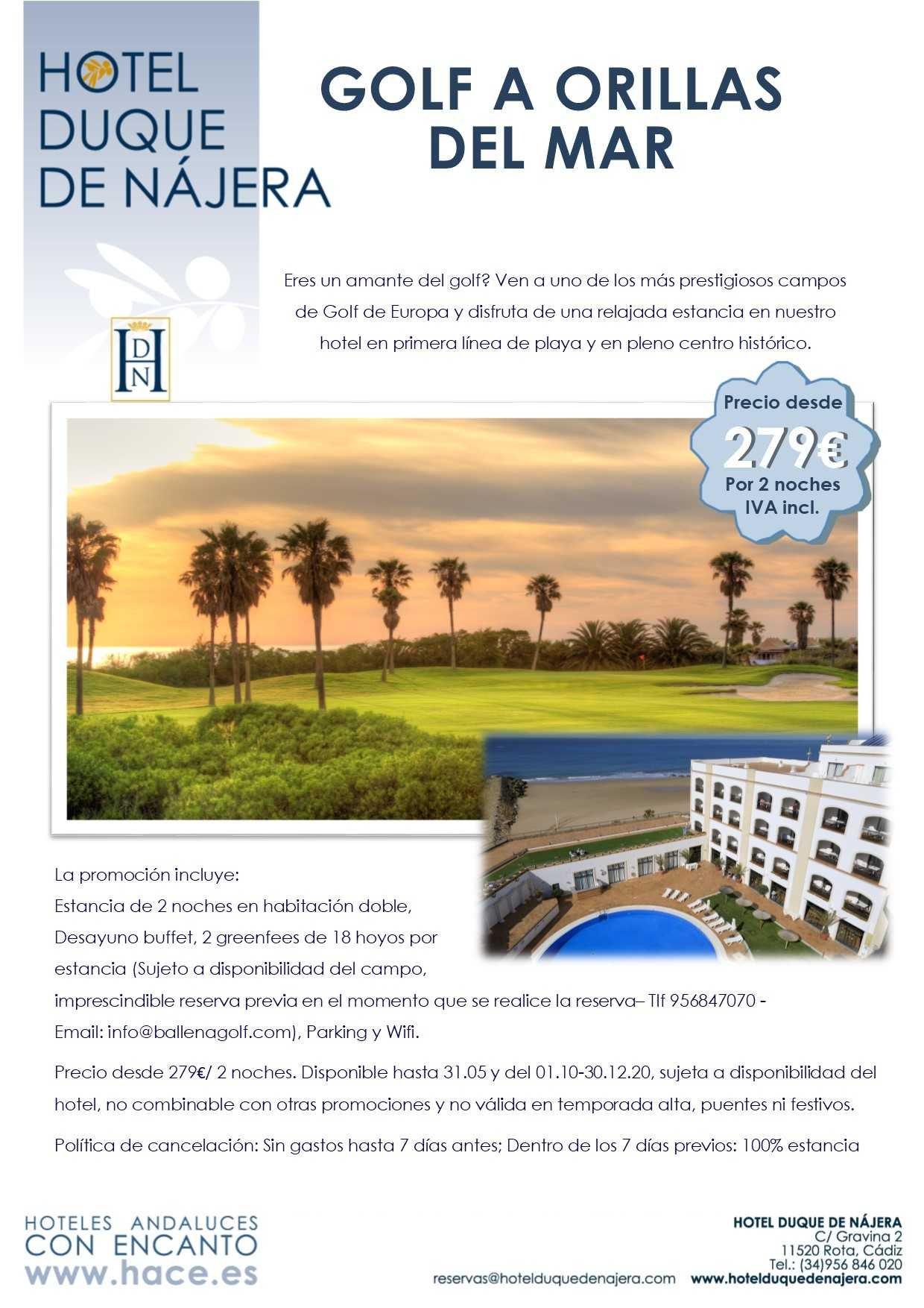 Golf a orillas del Mar