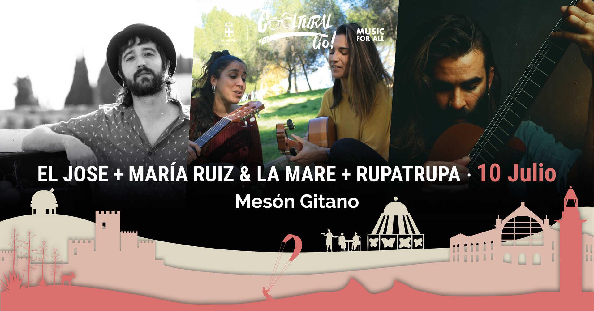 El José, María Ruíz & La Mare y La Rupatrupa