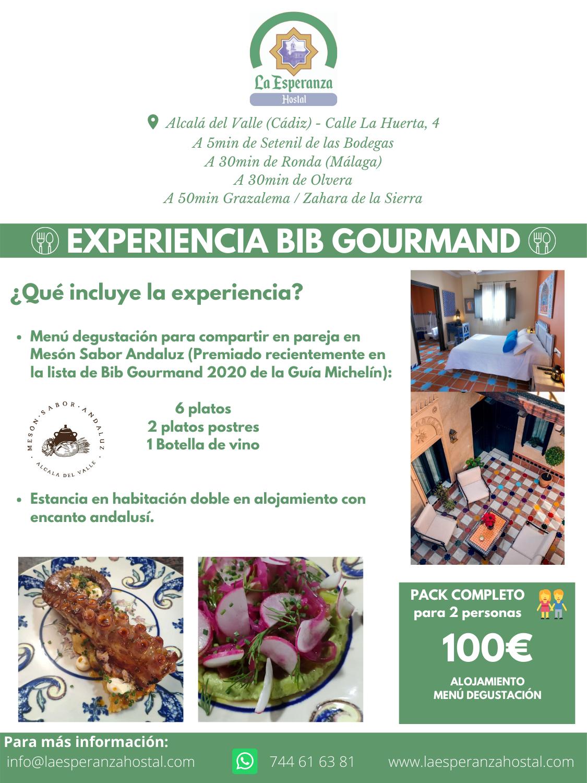 EXPERIENCIA BIB GOURMAND
