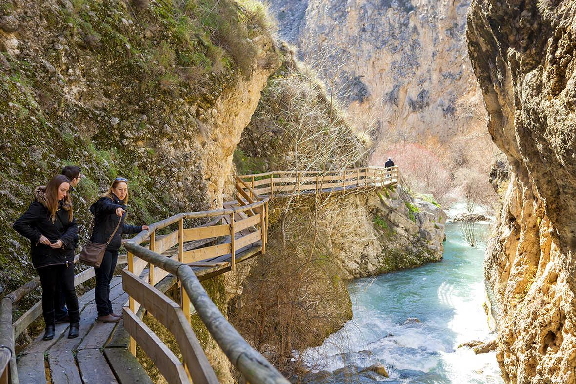 Pasarela la Cerrada del río Castril