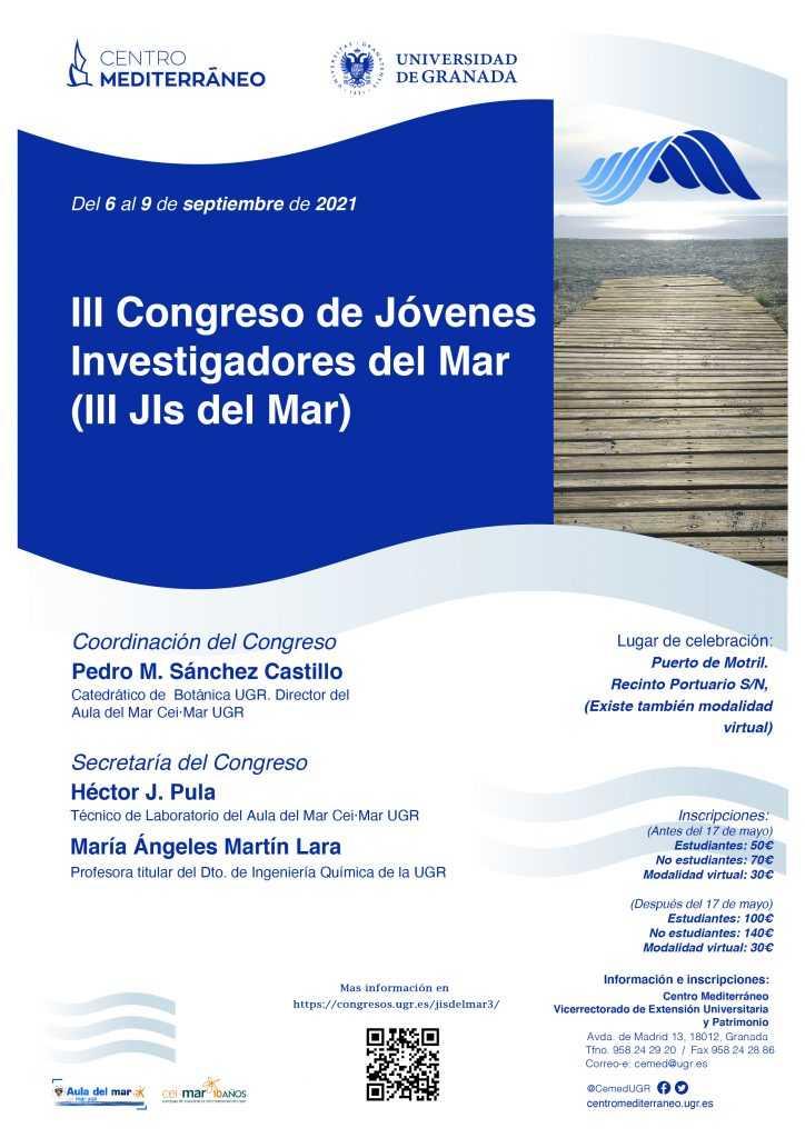 III Congreso de jóvenes investigadores del mar