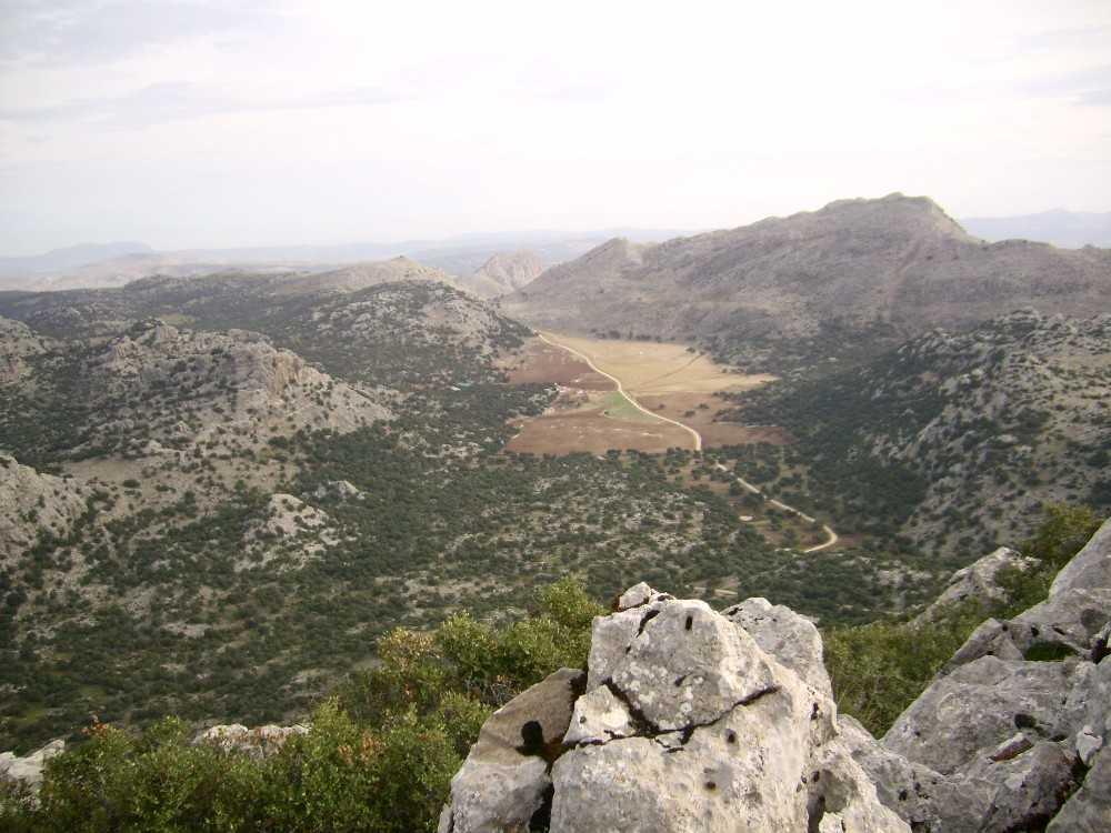 Senderos y paisaje
