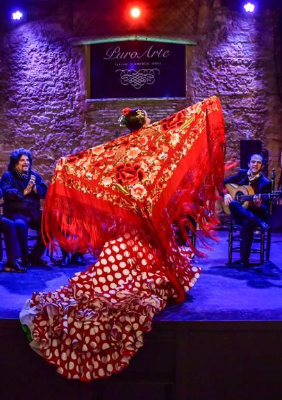 Promoción jerez Espectáculo flamenco + almuerzo