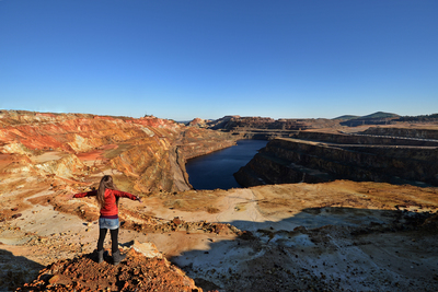 Riotinto mines, a journey to another planet