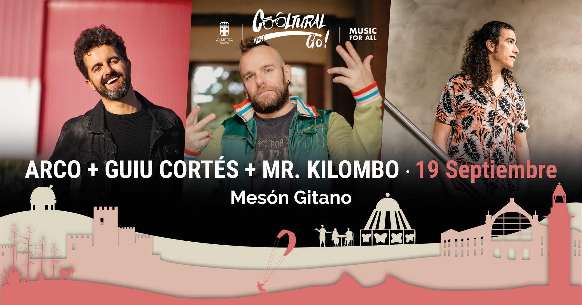 Arco, Mr. Kilombo y Guiu Cortés