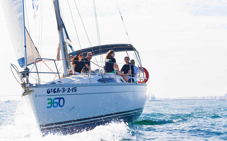 Turismo Azul Actividades en velero en la Provincia de Cádiz