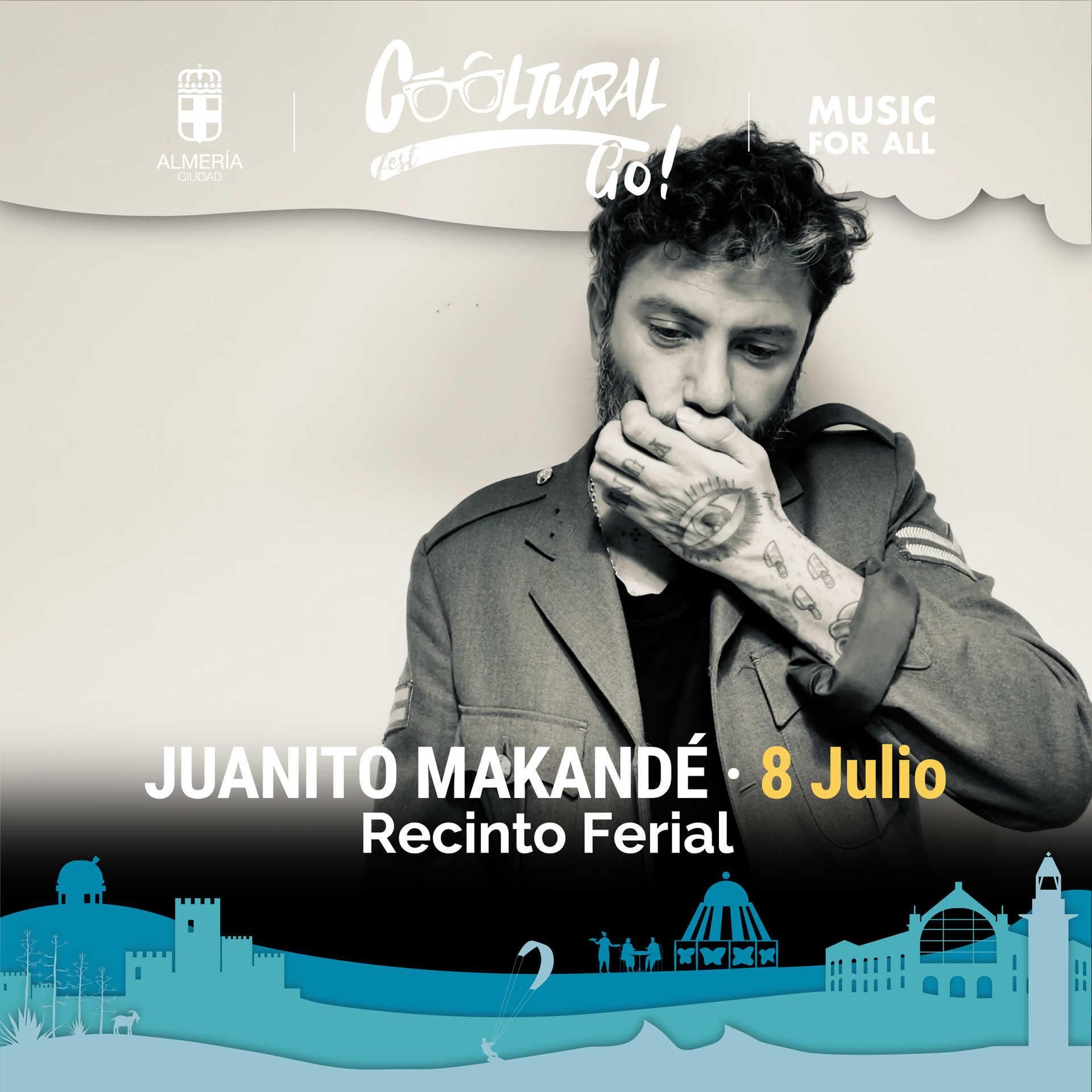 Juanito Makandé en concierto