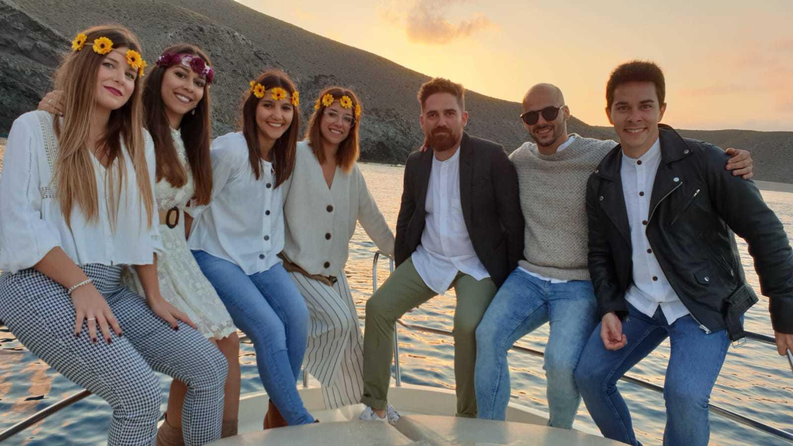 Ruta en barco por las 5 mejores Calas del Cabo de Gata