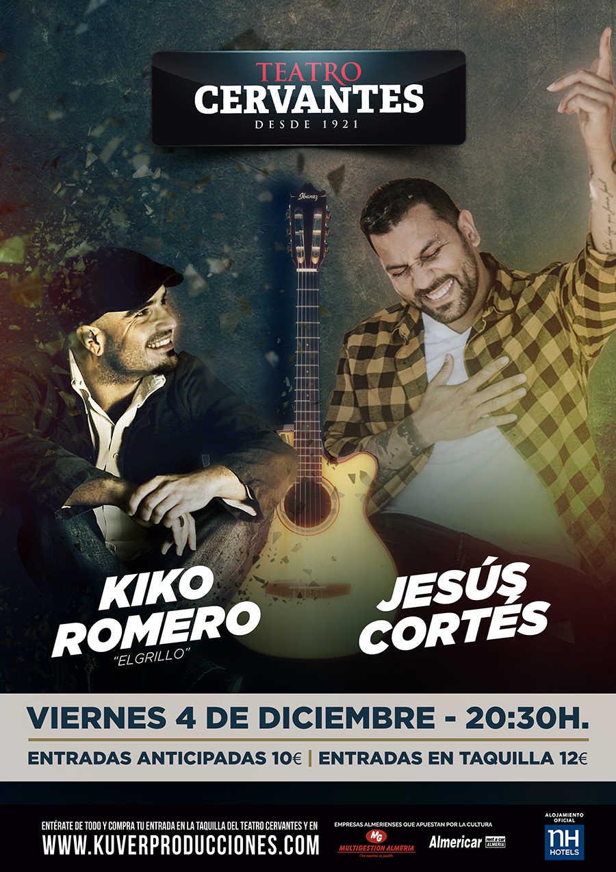 """Kiko Romero """"El Grillo"""" y Jesús Cortés en concierto"""