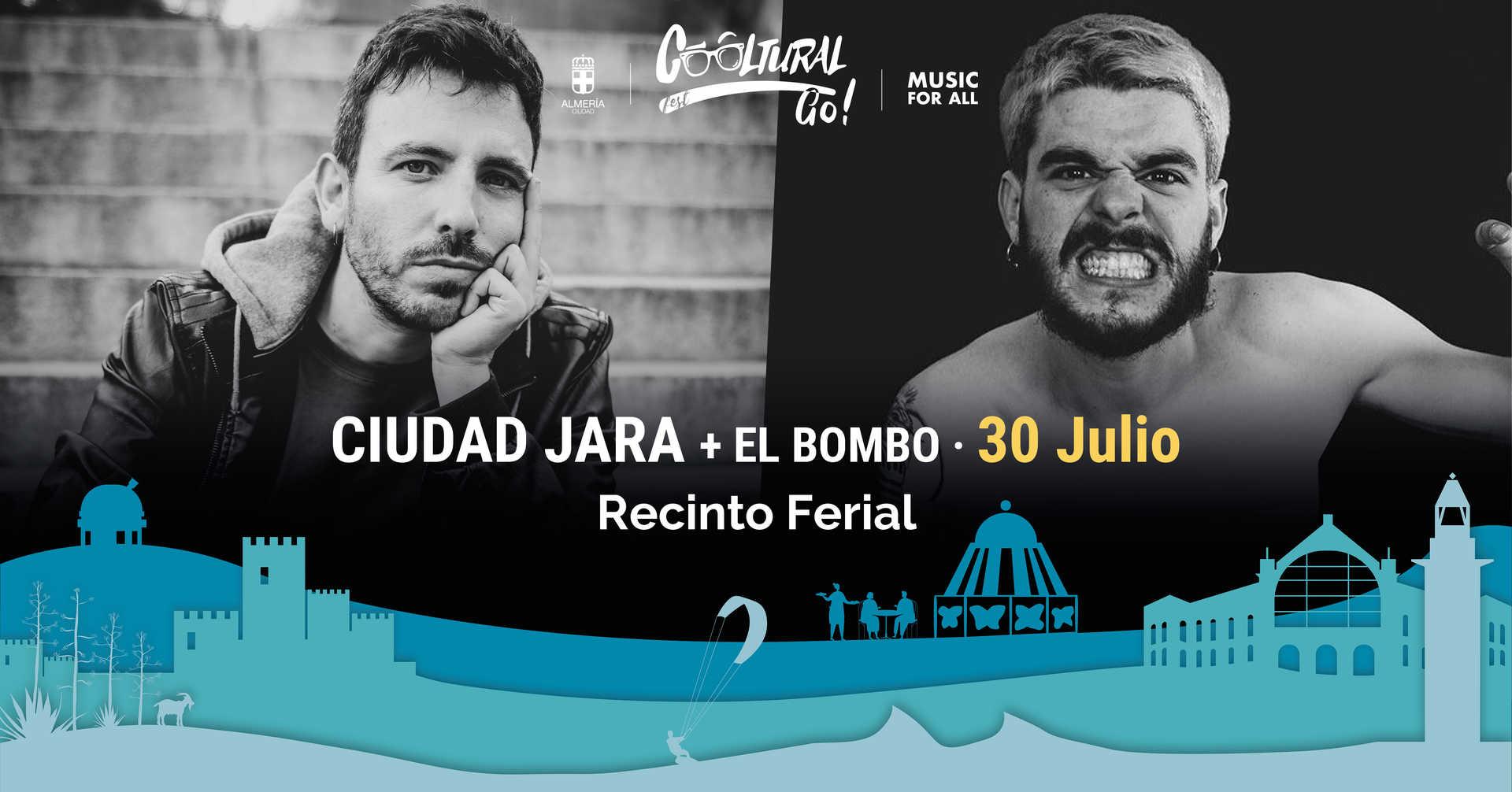 Ciudad Jara y El bombo en concierto
