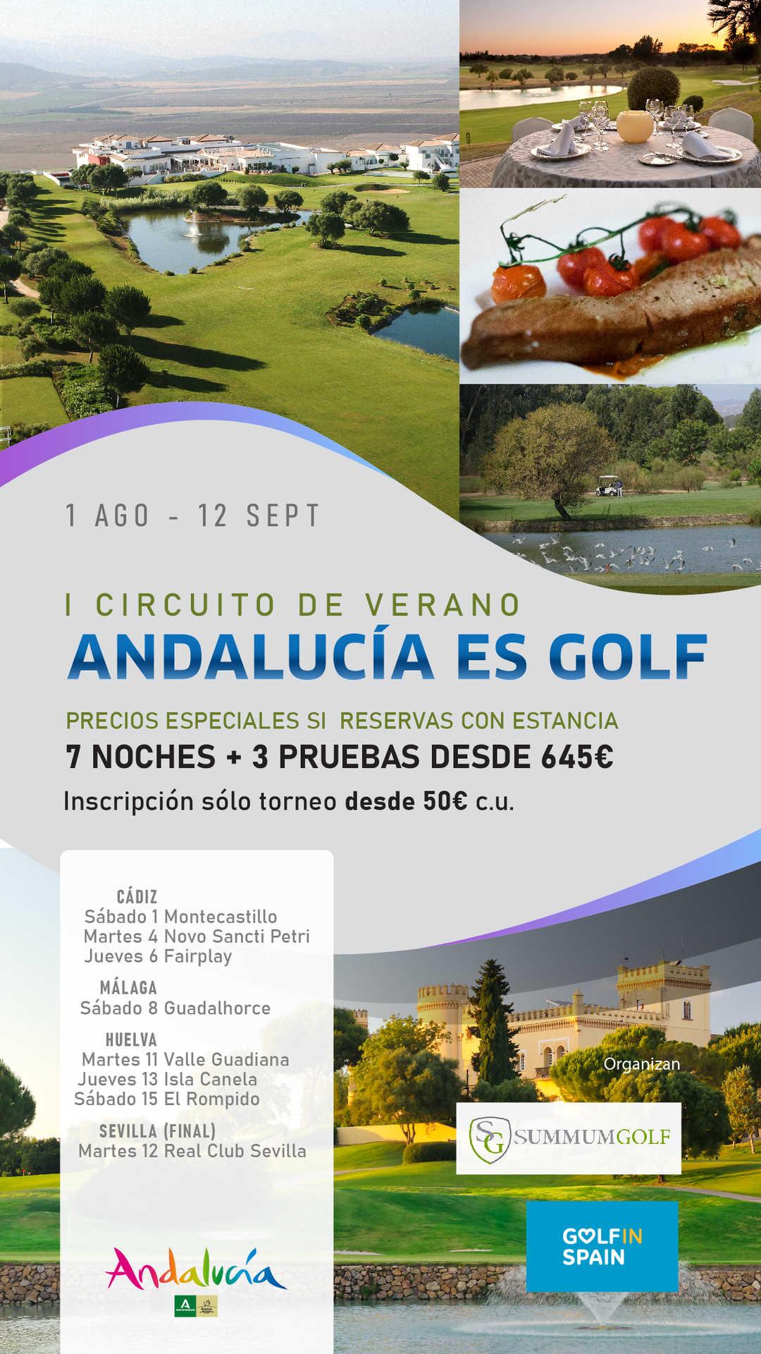 I Circuito de Verano Andalucía es Golf