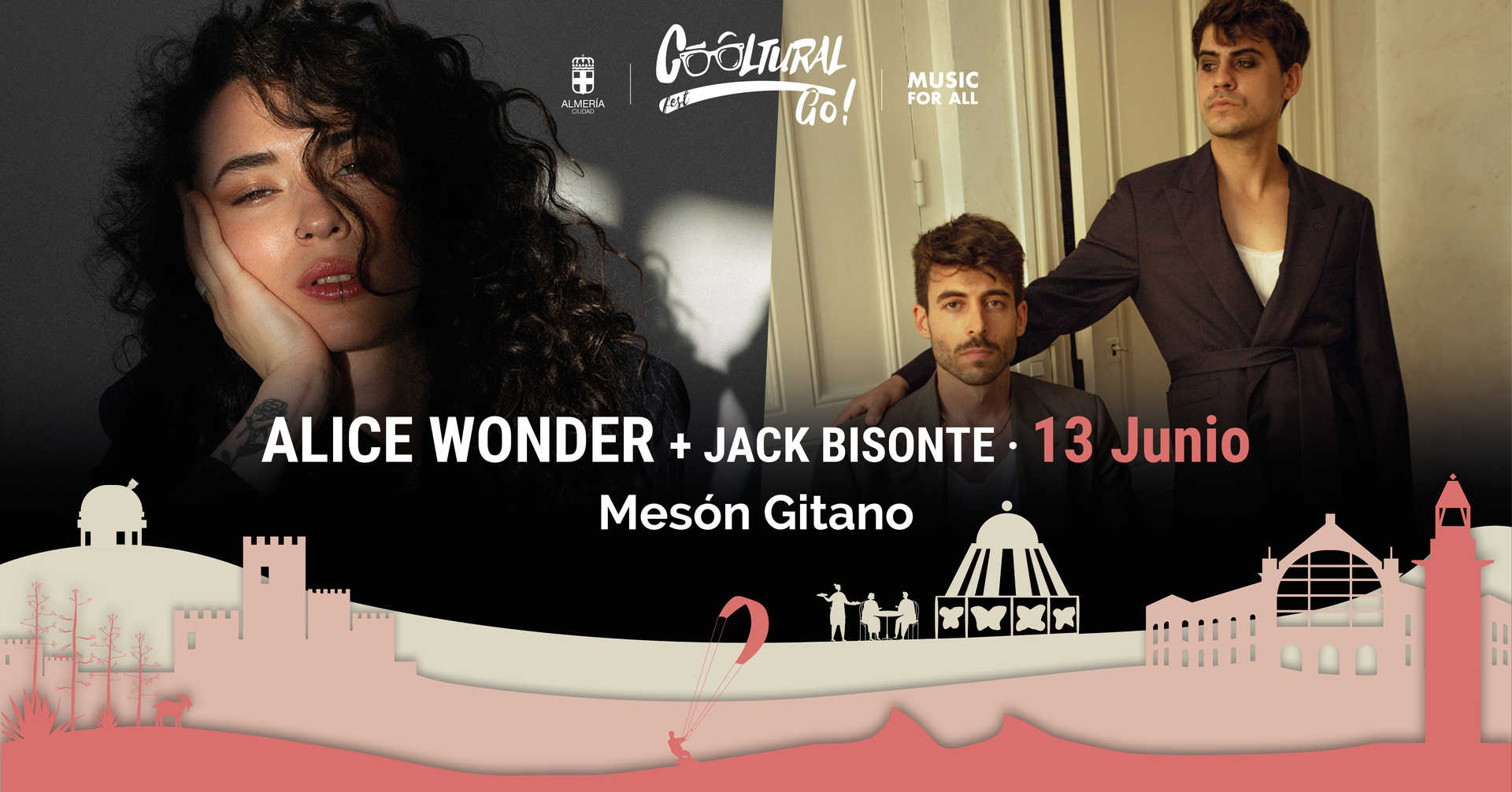 Alice Wonder y Jack Bisonte
