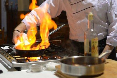 Un show cooking muy Jerezano