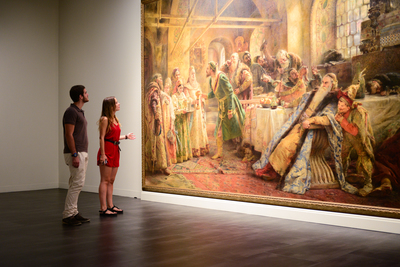 Exploring the museums in Malaga