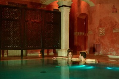 Hammam Andalusí, the best place to relax and see the views of Jerez