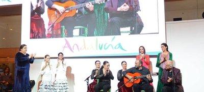 El arte y la música inundan el Pabellón de Andalucía con el Festival Flamenco de Jódar