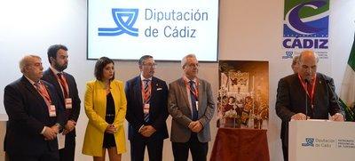 La solemnidad de la Semana Santa de Cádiz se muestra en FITUR.